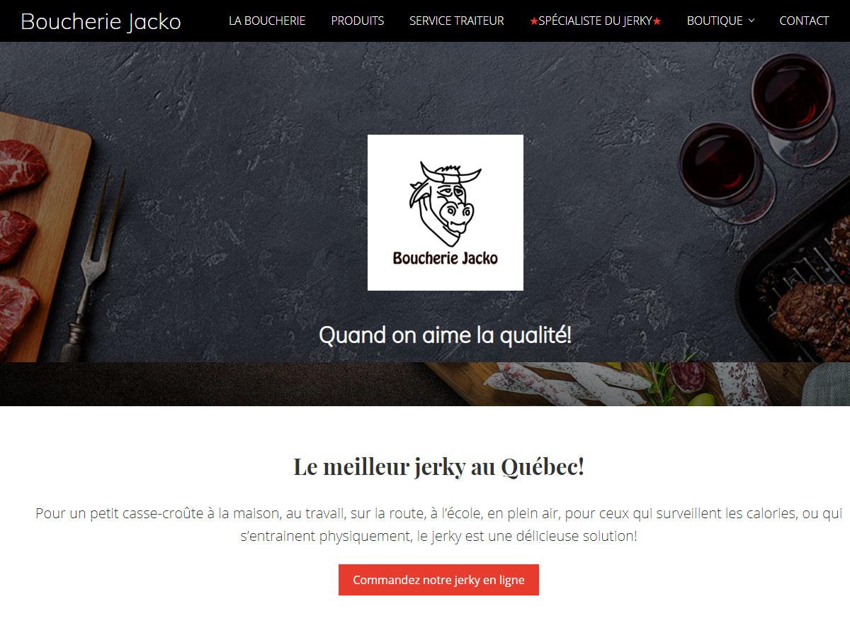 Boucherie Jacko, Saguenay Québec