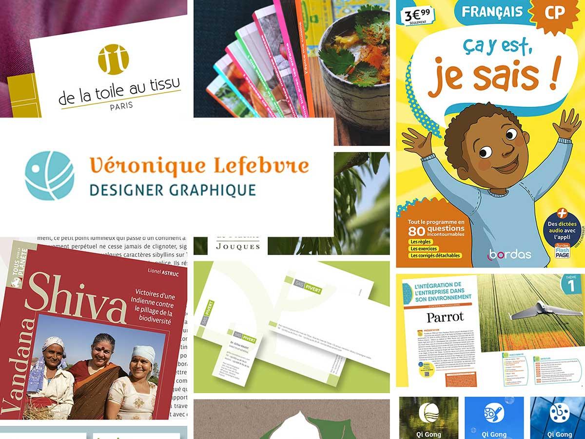 Véronique Lefebvre-Designer Graphique Montréal