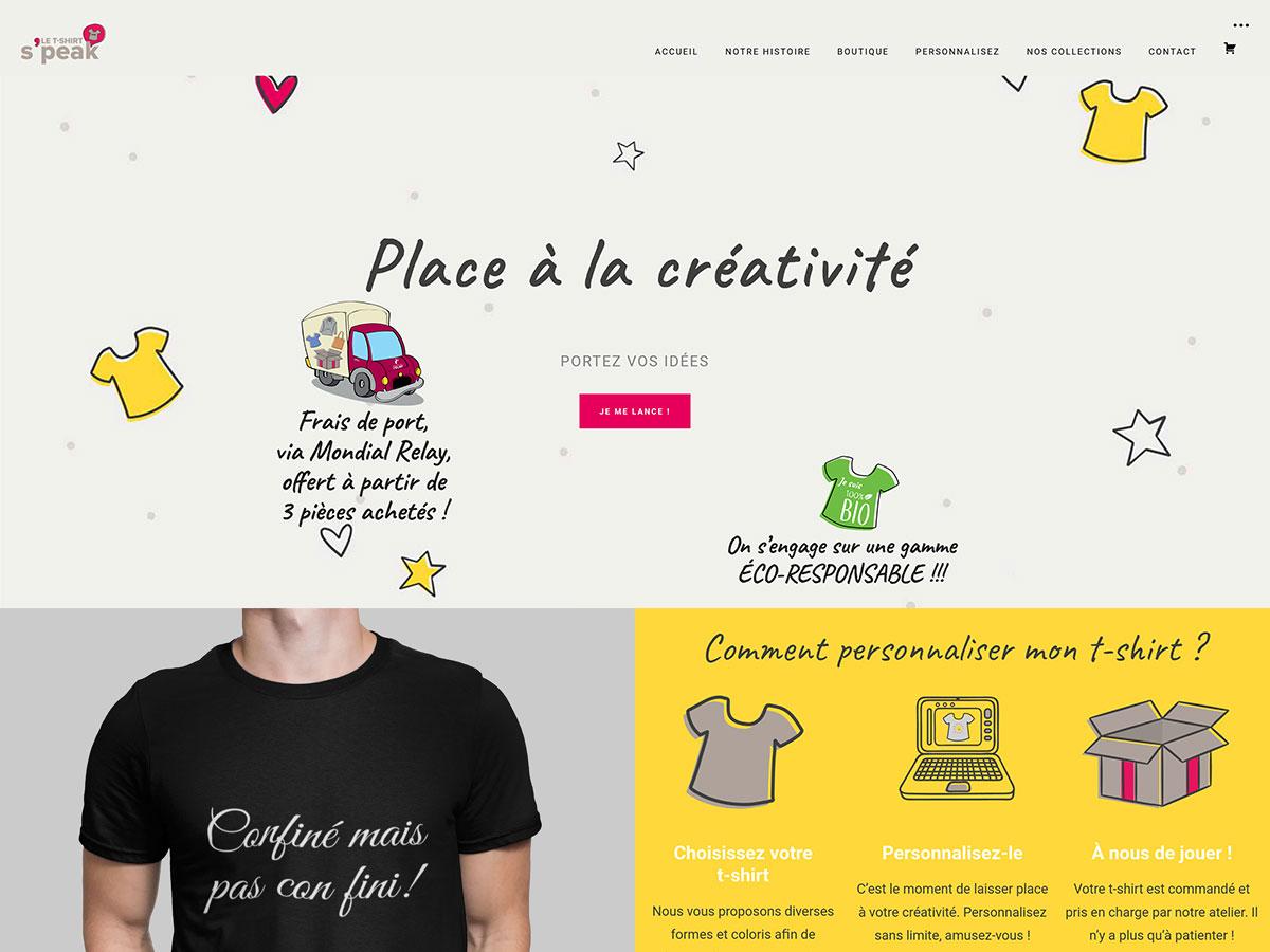 Le T-Shirt Speak - France